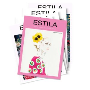 ESTILA MAGAZINE YEARLY SUBSCRIPTION