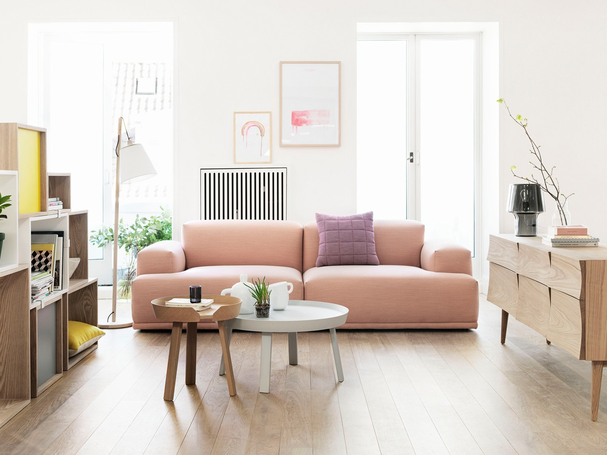 Nest-Muuto-Connect-Two-Seater-Sofa-in-Steelcut-Trio-Rose-3