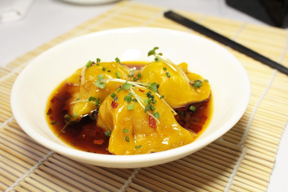 Steamed Chilli Pork Dumplings