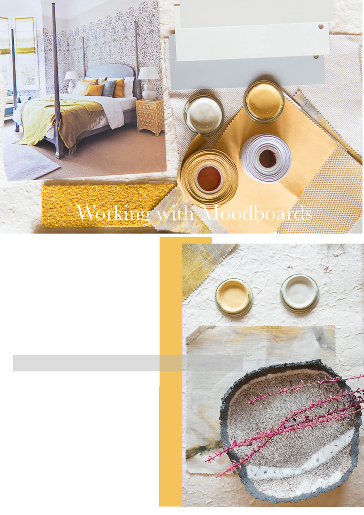 An Exercise That Can Really Help To Pin Down Your Interior Style And Favourite Colours Is Creating Your Own Moodboard In My View It S An Essential