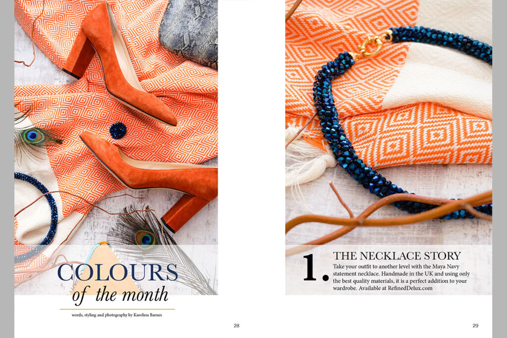 Estila EDIT Colours of the month ethical living