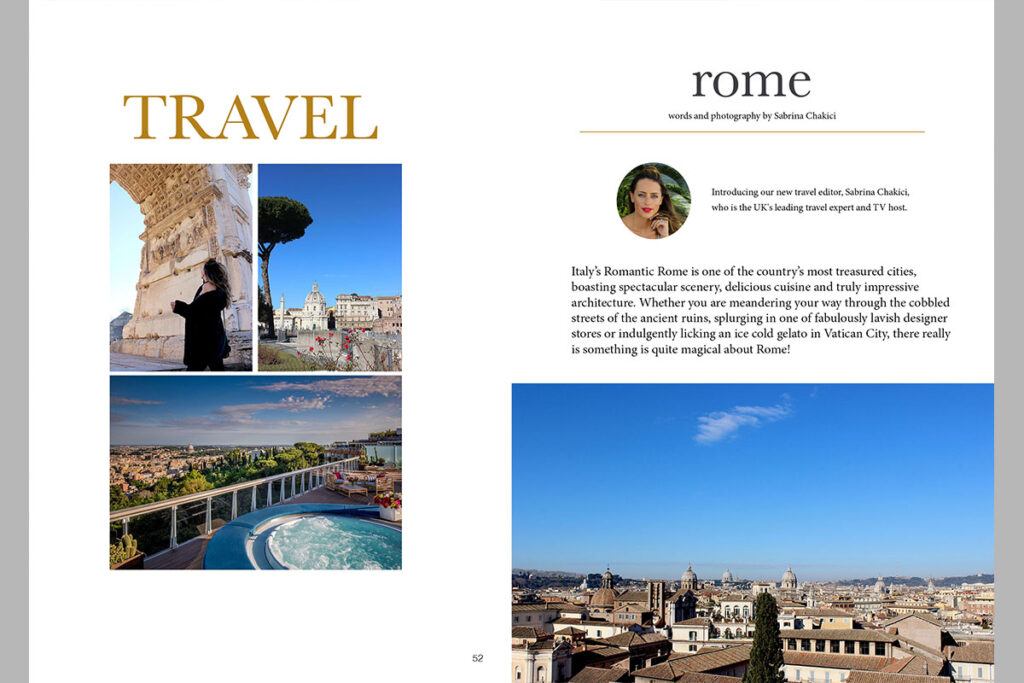 Estila Edit travel to rome