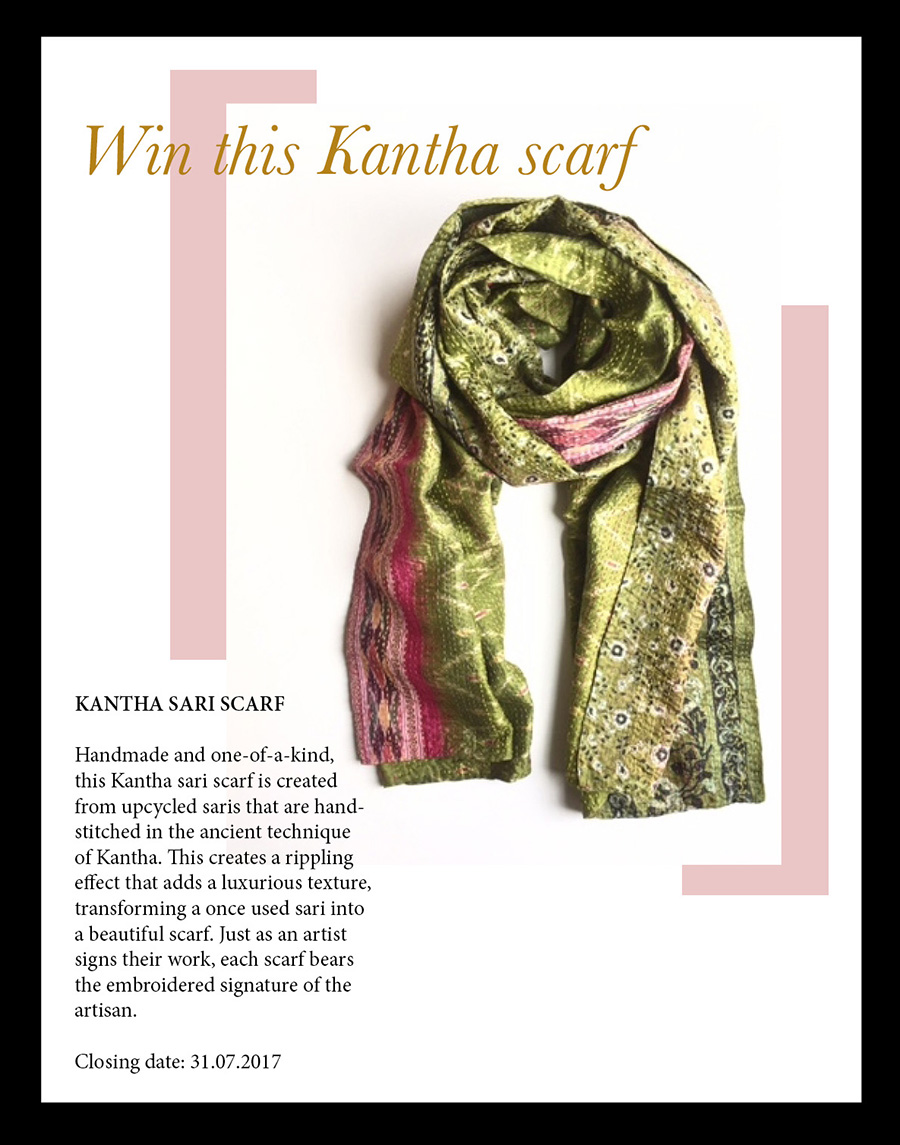 sari scarf