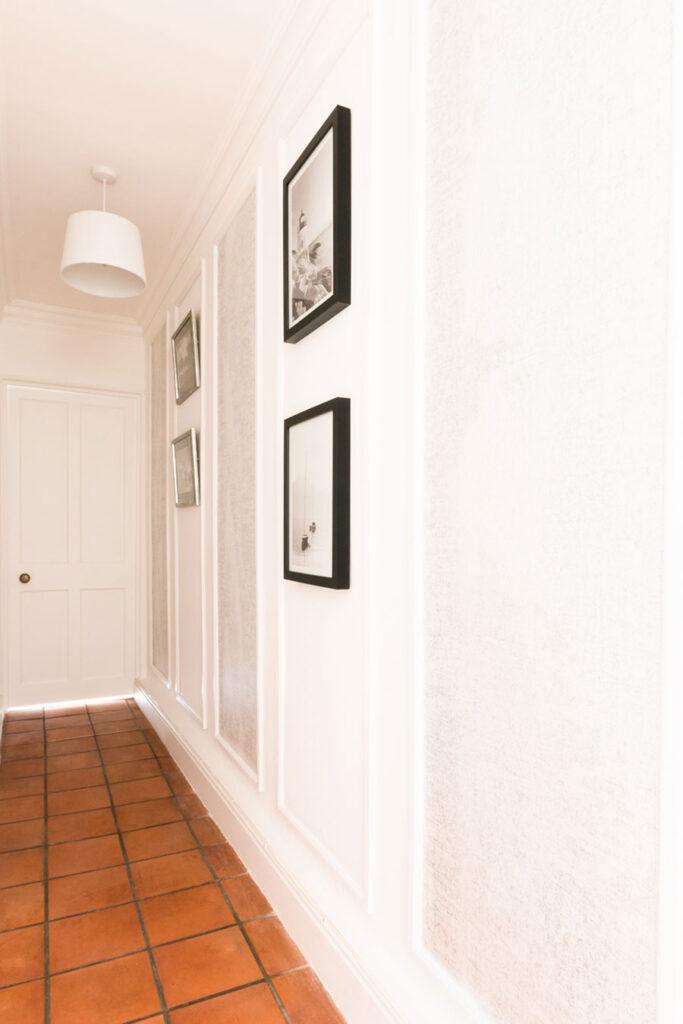 modern home interior hallway