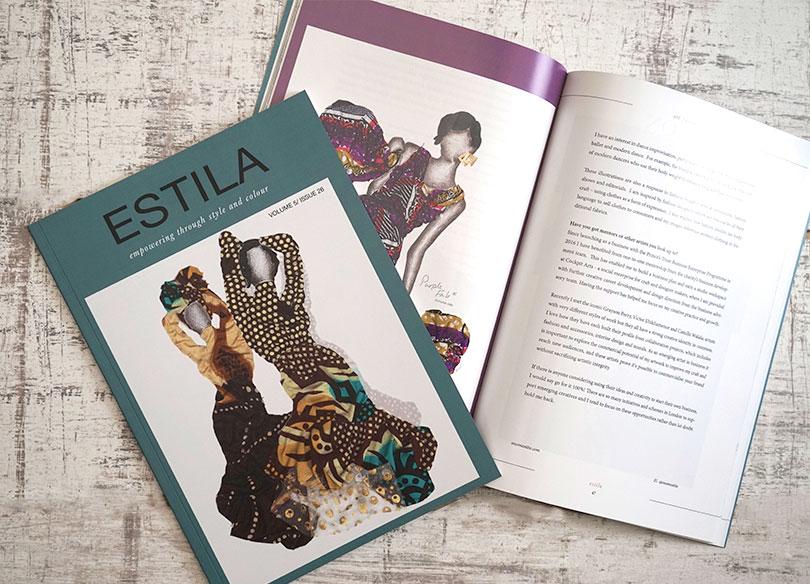 Estila magazine cover
