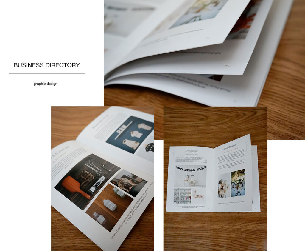 Studio ESTILA directory design
