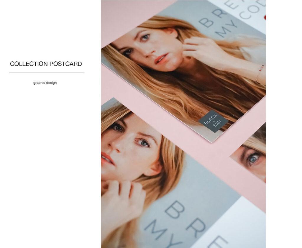 Studio ESTILA postcard design BAS