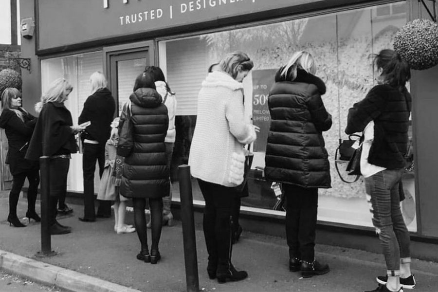 January retail Timpanys